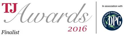 TJ Awards 2016 Finalist logo