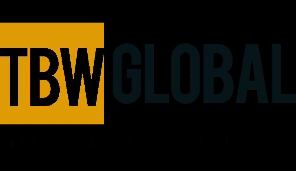 TBW Global Logo Framed
